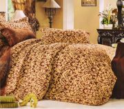 Welhouse India Traditional Design Cotton King Bedsheet With Two Pillow Cover