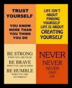 10 Am 4 Quotes Framed Wall Art  ( F4Q6  )