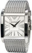 Imported Emporio Armani Ar2014 Silver Dial Stainless Steel Men Wrist Watch