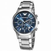 Imported Emporio Armani Ar2448 Stainless Steel Blue Dial Men Wrist Watch