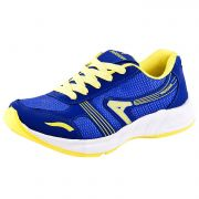 Provogue Stylish & Attractive Blue And Yellow Sport Shoes