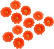 Zarsa Sunflower Float Candle(Multicolor, Pack Of 12)