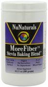 NuNaturals Morefiber Stevia Baking Blend Powder, 14.11-Ounce