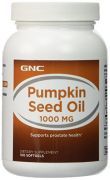 GNC Pumpkin Seed Oil 1000mg 100 Cap