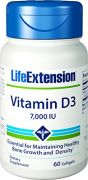 Life Extension Vitamin D3 7000 IU, 60 Capsules
