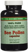 Y.S. Organic Bee Pollen -- 200 Capsules