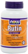 Now Foods Rutin 450mg, Veg-Capsules, 100-Count