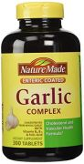 Nature Made Garlic Complex With Vitamin B6, Vitamin B12 And Folic Acid - 300 Enteric Tablets