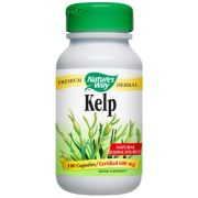 "Nature""s Way Kelp -- 100 Capsules"