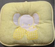 Pillows For Babies  Cute Yellow Pillow For Toddler Boy Or Girl