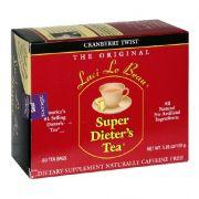 "Super Dieter""s Tea Cranberry Twist - 60 Tea Bags"