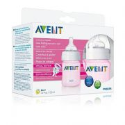 Philips Avent Feeding Bottle 3PK 4OZ - Pink