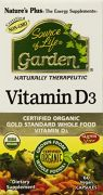 "Nature""s Plus Source Of Life Garden Vitamin D3 -- 60 Vegetarian Capsules"