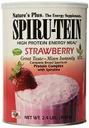 """Nature""""s Plus - Spiru-Tein Strawberry Flavor, 2.4 Lb Powder"""