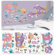 Littlest Pet Shop Peel And Stick Wall Sticker