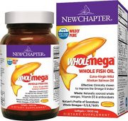 New Chapter Wholemega Whole Fish Oil With Omegas And Vitamin D3 - 120 Ct (2 Month Supply)