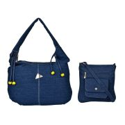 Exotique Women's Blue Casual Bags Combo (code-hc0015bl)
