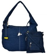 Exotique Women's Blue Casual Bags Combo (code-wc0004bl)