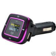 Car Audio 5in 1 Car MP3 Player FM Modulator FM Transmitter Remote Control