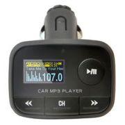New Mini Car FM Transmitte Modulator USB SD , AUX With Remote