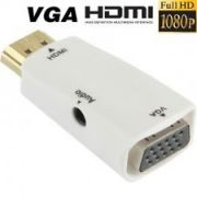 HDMI To VGA Converter With 3.5MM Audio For HDTV / Monitor / Projector A002
