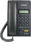 Panasonic KX-TSC62SXB Corded Landline Phone 62 Caller ID Support Speakerpho