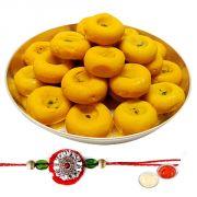 Kesaria Pedas From Haldiram With Rakhi