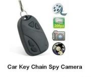 Car Key Chain Spy Camera Hidden Spy Keychain Car Remote