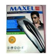 Maxel Electric Hair Beard Trimmer Professional With 4 Attachments