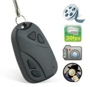 Spy Camera Car Key Chain Remote Spy Video Camera