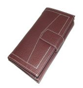 PE Womens New Brown PU Leather Wallet