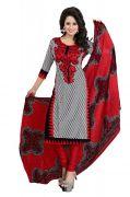 Vedant Vastram Black Colour Poly Cotton Unstitched Printed Dress Matrial (code - Vvdm_anjured)