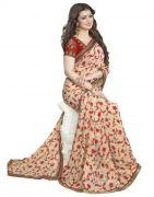 Prayosha Enterprise Designer Multi Color Georgette Saree, Pys104sr3026