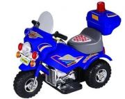 Kids Ride On Electric Chargeable Police Motorbike (rd)