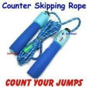 Skipping Rope With Counters - Count Jumps