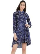 Soie Women's Printed Dress (code - Ol-40print)