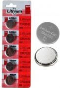 20 PCs Micro Lithium Cell Cr2032 3v Coin Cell Battery For For Motherboard Toy