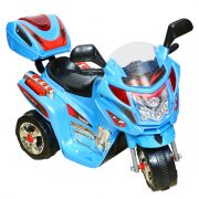 Wheel Power Baby Battery Operated Ride On Bike C051 Blue With Key Ring