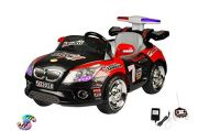 Wheel Power Baby Battery Operated Ride On Smiley Car Red-black Free Fidget