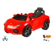 Wheel Power Baby Battery Operated Ride On Lemborgani Car Red Free Fidget