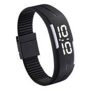 LED Digital Watches Jelly Men Wristwatch Magnet Buckle Clock