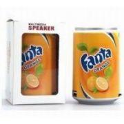 Fanta Can Mini Audio MP3 /fm Radio Player/speaker/ Box Tf/micro SD Card