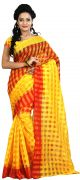 Mahadev Enterprises Yellow Colour Art Cotton Saree Mkv_105