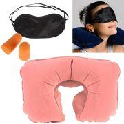 Travel Selection (comfort Neck Pillow, Travel Eyeshade & Travel Earplugs)