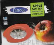 2 X Famous Apple Cutter Apple Slicer Cuts Equally Corer Cuts Apple Into 6-8 Pieces