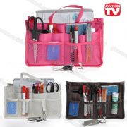 As Seen On TV Women's Handbag Organiser Liner Tidy Travel Cosmetic Pocket Insert (colour May Vary)
