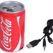 Coca Cola USB & Tf Card Multimedia Stereo Speaker