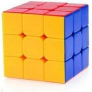 6th Dimensions 3 X 3 X 3 Sticker-less Magic Cube