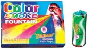 Indigo Creatives Set Of 5 Pieces Holi Rainbow Smoke Fog Air Color Gulal Party Celebration Holi Color (red, Yellow, Blue