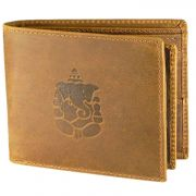 Tamanna Men Tan Genuine Leather Wallet (5 Card Slots) (code - Lwm00147-tm)
